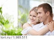 Купить «Влюбленная пара», фото № 1989511, снято 26 августа 2010 г. (c) Raev Denis / Фотобанк Лори