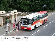 Купить «Автобус», фото № 1993323, снято 18 июля 2009 г. (c) Art Konovalov / Фотобанк Лори