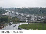 Мост через Оку. Редакционное фото, фотограф Устюгова Дарья / Фотобанк Лори
