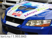 Фрагмент раллийного автомобиля (2010 год). Редакционное фото, фотограф Александр Романов / Фотобанк Лори