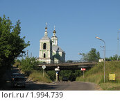 Купить «Мост в Смоленске», фото № 1994739, снято 14 июля 2010 г. (c) Артём Дудкин / Фотобанк Лори