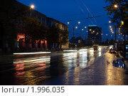Купить «Город Орел, вид с улицы Гостиная на мост через реку Оку», фото № 1996035, снято 11 октября 2009 г. (c) Александр Авдеев / Фотобанк Лори