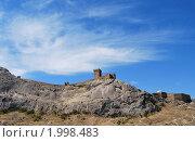 Генуэзская крепость в Судаке (2009 год). Стоковое фото, фотограф Давыдов Юрий / Фотобанк Лори