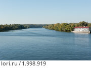 Купить «Вид с Живописного моста. Москва», фото № 1998919, снято 25 сентября 2010 г. (c) Екатерина Овсянникова / Фотобанк Лори