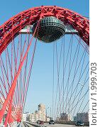Купить «Живописный мост. Москва», фото № 1999703, снято 25 сентября 2010 г. (c) Екатерина Овсянникова / Фотобанк Лори