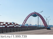 Купить «Живописный мост. Москва», фото № 1999739, снято 25 сентября 2010 г. (c) Екатерина Овсянникова / Фотобанк Лори