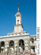 Купить «Здание Северного Речного вокзала. Москва», фото № 1999983, снято 25 сентября 2010 г. (c) Екатерина Овсянникова / Фотобанк Лори