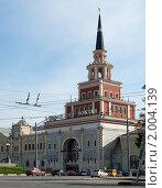 Купить «Здание Казанского вокзала. Москва», фото № 2004139, снято 26 сентября 2010 г. (c) Екатерина Овсянникова / Фотобанк Лори