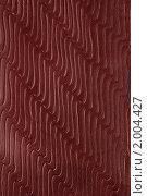Купить «Текстура красной  кожи», фото № 2004427, снято 28 февраля 2010 г. (c) Анна Кучерова / Фотобанк Лори