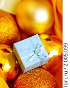 Купить «Новогодний подарок», фото № 2005099, снято 22 сентября 2010 г. (c) Алена Роот / Фотобанк Лори
