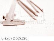 Инженерные инструменты. Стоковое фото, фотограф Наталья Демидчик / Фотобанк Лори