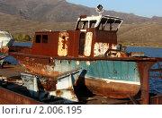 Старенькая яхта. Стоковое фото, фотограф Евгений Курлыкин / Фотобанк Лори