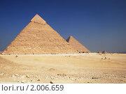 Купить «Пирамида в Гизе», фото № 2006659, снято 25 мая 2018 г. (c) Светлана Привезенцева / Фотобанк Лори