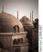 Купить «Великие Мечети, Стамбул», фото № 2006687, снято 20 ноября 2018 г. (c) Светлана Привезенцева / Фотобанк Лори