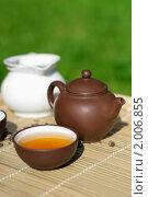 Купить «Китайская чайная церемония», фото № 2006855, снято 11 июля 2010 г. (c) Татьяна Белова / Фотобанк Лори