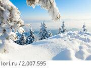 Купить «Зимний пейзаж», фото № 2007595, снято 8 марта 2010 г. (c) Юрий Брыкайло / Фотобанк Лори