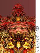 Купить «Фрактал 3D», иллюстрация № 2014423 (c) Parmenov Pavel / Фотобанк Лори