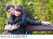 Купить «Осенняя история любви», фото № 2020063, снято 26 сентября 2010 г. (c) Okssi / Фотобанк Лори