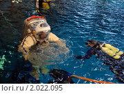 Купить «Джефф Уильямс во время тренировки в гидролаборатории Звездного городка», фото № 2022095, снято 20 февраля 2009 г. (c) Victor Spacewalker / Фотобанк Лори
