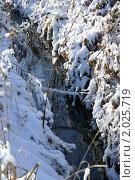 Ручей зимой. Стоковое фото, фотограф Александр Фёдоров / Фотобанк Лори