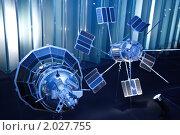 Купить «Музей космонавтики. Два советских искусственных спутника Земли. Москва, Россия», фото № 2027755, снято 8 ноября 2009 г. (c) Losevsky Pavel / Фотобанк Лори