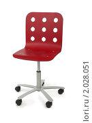 Купить «Красный современный стул», фото № 2028051, снято 25 февраля 2010 г. (c) Losevsky Pavel / Фотобанк Лори