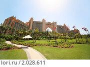 Купить «Отель Atlantis, Дубай», фото № 2028611, снято 19 апреля 2010 г. (c) Losevsky Pavel / Фотобанк Лори