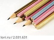 Карандаши различных цветов. Стоковое фото, фотограф Владимир Зорин / Фотобанк Лори