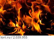 Купить «Огонь. Фон», фото № 2039955, снято 9 октября 2010 г. (c) Катерина Макарова / Фотобанк Лори