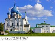 Купить «Суздальский Кремль», фото № 2041967, снято 9 сентября 2010 г. (c) Михаил Ковалев / Фотобанк Лори