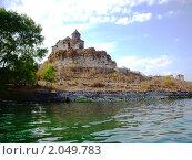 Монастырь Айраванк, Армения. Стоковое фото, фотограф Татьяна Крамаревская / Фотобанк Лори