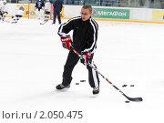 Купить «Мастер - класс легенд мирового хоккея в Балашихе», эксклюзивное фото № 2050475, снято 13 октября 2010 г. (c) Дмитрий Неумоин / Фотобанк Лори