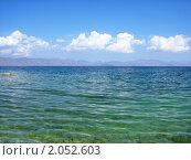 Озеро Севан, Армения. Стоковое фото, фотограф Татьяна Крамаревская / Фотобанк Лори