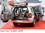 Купить «Демо-автомобиль фирмы Prology», фото № 2061039, снято 29 августа 2007 г. (c) Ольга Денисова / Фотобанк Лори