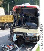 ДТП с пассажирским автобусом (2010 год). Редакционное фото, фотограф Денис Шашкин / Фотобанк Лори