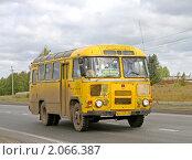 Купить «Автобус», фото № 2066387, снято 22 августа 2010 г. (c) Art Konovalov / Фотобанк Лори