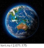 Купить «Земля в космосе», иллюстрация № 2071175 (c) Антон Балаж / Фотобанк Лори