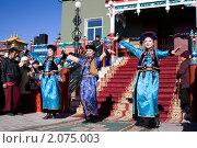 Купить «Бурятский национальный танец», фото № 2075003, снято 15 октября 2010 г. (c) Евгений Кузьмин / Фотобанк Лори