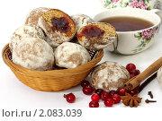 Купить «Пряники с фруктовой начинкой», фото № 2083039, снято 20 октября 2010 г. (c) Татьяна Белова / Фотобанк Лори