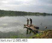 Рыбаки. Стоковое фото, фотограф Светлана Петрова / Фотобанк Лори