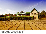 Купить «Домик в парке», фото № 2090635, снято 20 августа 2010 г. (c) Валышков Вячеслав / Фотобанк Лори