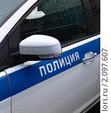 Автомобиль с надписью полиция. Стоковое фото, фотограф Денис Шашкин / Фотобанк Лори