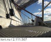 На палубе яхты (2007 год). Редакционное фото, фотограф Зуев Алексей / Фотобанк Лори
