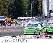Дрифтинг 2010.Парад участников. Редакционное фото, фотограф Дмитрий Никоненко / Фотобанк Лори
