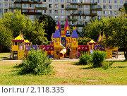 Детская площадка. Стоковое фото, фотограф Беляева Елена / Фотобанк Лори