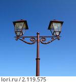 Фонарный столб. Стоковое фото, фотограф Сергей Яковлев / Фотобанк Лори