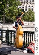 Купить «Уличный музыкант», фото № 2125895, снято 22 августа 2010 г. (c) Макарова Елена / Фотобанк Лори