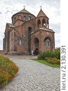 Купить «Церковь святой Рипсиме, Эчмиадзин, Армения», фото № 2130391, снято 10 октября 2010 г. (c) Иван Сазыкин / Фотобанк Лори