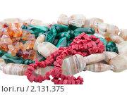 Купить «Бусы из натуральных камней», фото № 2131375, снято 9 ноября 2010 г. (c) Ирина Смирнова / Фотобанк Лори