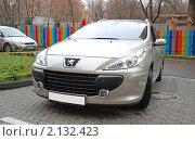 """Купить «Автомобиль """"PEUGEOT (Франция)"""". Модель 307 SW», эксклюзивное фото № 2132423, снято 9 ноября 2010 г. (c) lana1501 / Фотобанк Лори"""